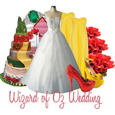 Wizard of Oz Wedding - What the heck! Why didn't i think of that?!