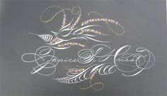 Letterlady's Letters - my name by the master penman, Michael Sull