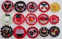 crochet bottons