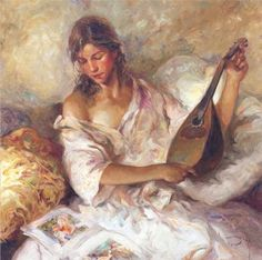Figurative Paintings by Jose Royo   Cuded