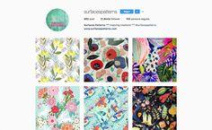 Pattern tessili, pattern illustrati, pattern architettonici e pattern culinari, in una lista di 10 account Instagram da seguire.