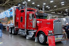 The Great American Trucking Show 2012. Dallas, Texas. Photo by Andy New.