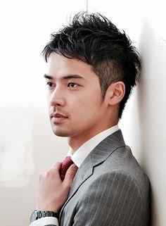 セット30秒!デキる男のビジネスショート 【RED☆HOT】 http://beautynavi.woman.excite.co.jp/salon/21366?pint ≪ #menshair #menshairstyle・メンズ・ヘアスタイル・髪形・髪型≫
