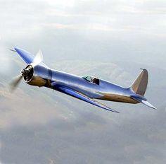 Hughes H1 in flight