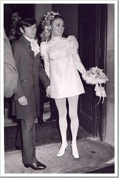 sharon tate wedding dress | Sharon Tate and Roman Polanski's Wedding, 20.01.1968 | Flickr - Photo ...