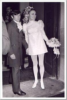 sharon tate wedding dress | Sharon Tate and Roman Polanski's Wedding, 20.01.1968 | Flickr - Photo ...