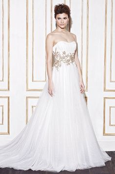 Tulle wedding dresses on pinterest 204 pins for Around the neck wedding dresses
