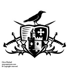 Christ Mitchell    The Highland Club  Client:  Corporate identity crest for The Highland Club. Fort Augustus Abbey situated on the edge of Lochness is one of the finest historical buildings in the North of Scotland, this spectacular building now hosts some of the most exclusive holiday homes and residential apartments in Scotland.