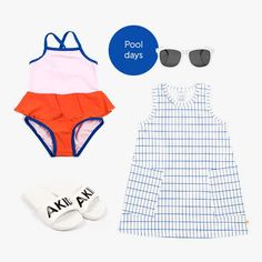 Pool Days Pool Days, Baby Online, Kind Mode, Bikinis, Swimwear, Kids Outfits, Kids Fashion, Shopping, Clothes