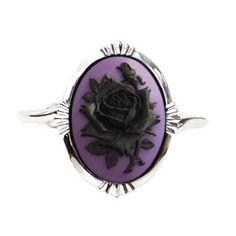 Rose Cuff Black