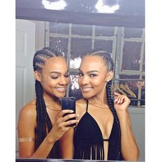 Women enjoy wearing box braids because these braids not only allow them to extend the length of their hair, but they can also wear different hairstyles with box braids. Although these styles look v… African Hairstyles, Weave Hairstyles, Curly Hair Styles, Natural Hair Styles, Pelo Natural, Hair Laid, Beautiful Braids, My Hairstyle, Twist Braids