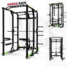 We R Sports® Power Rack Gym Crossfit Rack Smith Machine - Lat Pull Down -Pull Ups: Amazon.co.uk: Sports & Outdoors