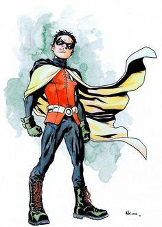 Robin (Damian Wayne) by Mike McKone