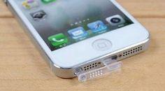 1x Stecker für Apple Iphone 5 5S 5C Staub Schutz Stöpsel Dock Set Klar