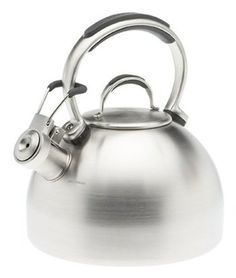 KITCHENAID Teakettle 2-Quart Gourmet Essentials Stainless Steel Kettle $44.99 SHIPPED FREE~~~ALSO FREE LOCAL DELIVERY NOW AVAILABLE WITHIN 10 MILES OF SANTA MONICA, CALIFORNIA ZIP CODE 90404~~~