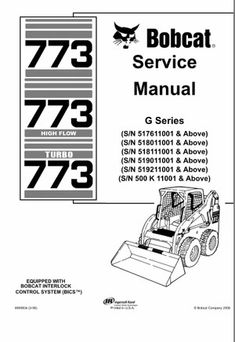 John deere powertech 105l 125l diesel engine service repair bobcat 773 g series skid steer loader service repair manual instant download fandeluxe