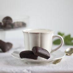 Financiers de chocolate. Receta francesa con Thermomix