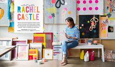Rachel Castle for Adore magazine   Hannah Blackmore Photography