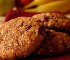 Pumpkin Spice Cranberry Breakfast Cookies