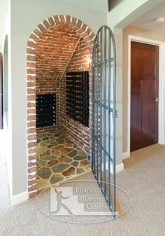 Under Stairs Wine Cellar Design Ideas, Pictures, Remodel, and Decor
