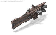 Diesel Space - Cruiser concept by *SkyWay on deviantART