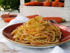Spaghetti alle carote e zafferano