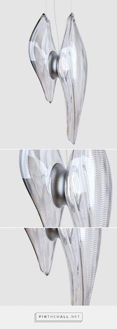 zaha hadid for lasvit: duna pendant lamp - created via https://pinthemall.net