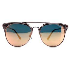 Quay Australia X Chrisspy Gemini Sunglasses in Rose **PRE-ORDER