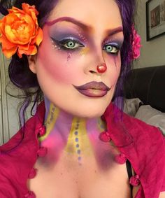#clownmakeup #clown #krylon #supra #makeup #clown  @nyxcosmetics @nyxukcosmetics…