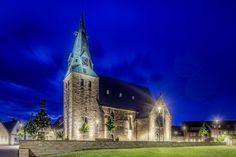 Church Square, Westerkappeln (Germany) Kirchplatz, Westerkappeln (Deutschland)  #luminaire #light #Beleuchtung #leuchte