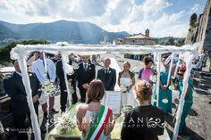 Allestimento floreale e scenografico al castello S.Giorgio in Rito Civile La Spezia