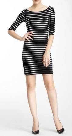 Susu Stripe Boatneck Dress