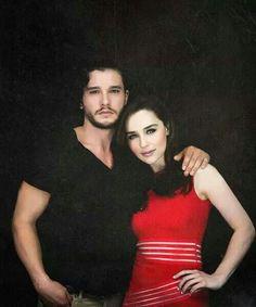 Jon Snow & Khaleesi :-)