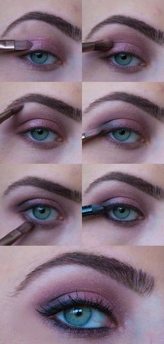 How to do a natural urban decay look with the naked 3 palette