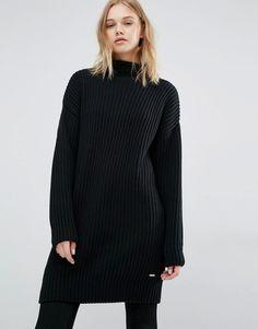 Oversize black jumper for lazy days DrDenim AW16