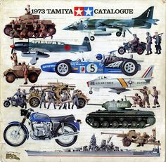 1973 Tamiya model catalogue... The annual Tamiya catalogue release was such a big part of my youth....I don't make them anymore but it still brings back such cool memories