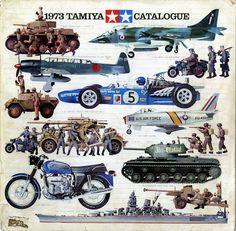 1973 Tamiya model catalogue