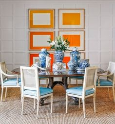 50+ Vintage Dining Room Ideas_25