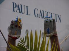 La croisière de Bob et Bobine sur le Paul Gauguin, dans les Caraïbes!