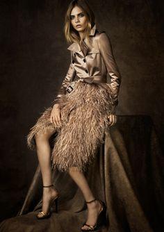 Cara Delevingne for Burberry Regent Street Fall 2012 Lookbook