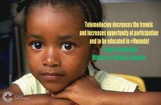 #Telemedicine in Rwanda.