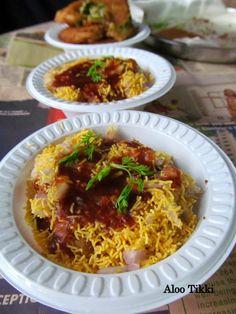 The Mad Scientist's Kitchen!!: Aloo Tikki Chaat~Union Teritorry Delhi