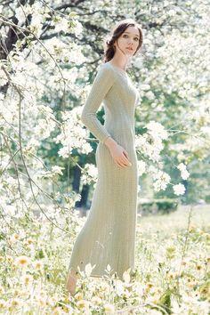 Летнее платья из коллекции Ulyana Lineva