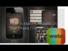 How To Make A Website On Your iPhone [The Simple Way]