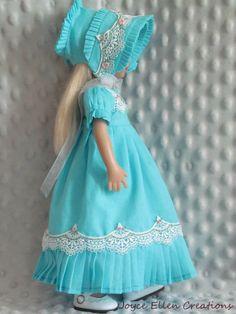 http://www.ebay.com/itm/13-Effner-Little-Darling-BJD-fashion-turquoise-Regency-OOAK-handmade-JEC-/292070042098