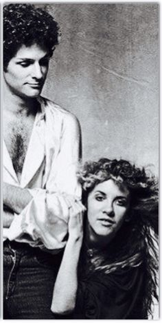 Lindsey Buckingham and Stevie Nicks photographed by Norman Seeff, 1979.