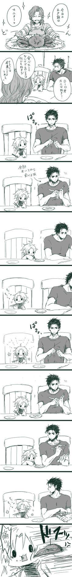 「承DIO小ネタ」/「ぼんぢり」の漫画 [pixiv] - Ahaha omg this is soo cute! XD