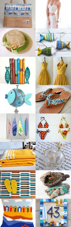 Sun and Surf by Jane Pearce on Etsy