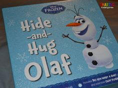 Have you seen this Olaf? Then click here for a freebie file to print to use this at home or in your classroom.