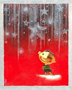 Πινελιές του κόσμου: Ένα χριστουγεννιάτικο αστέρι / αστέρι σε Χριστούγεννα / Χριστούγεννα Αστέρων